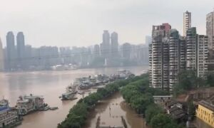 Water Levels Hit Record at Three Gorges Dam, Chongqing Residents Forced to Evacuate