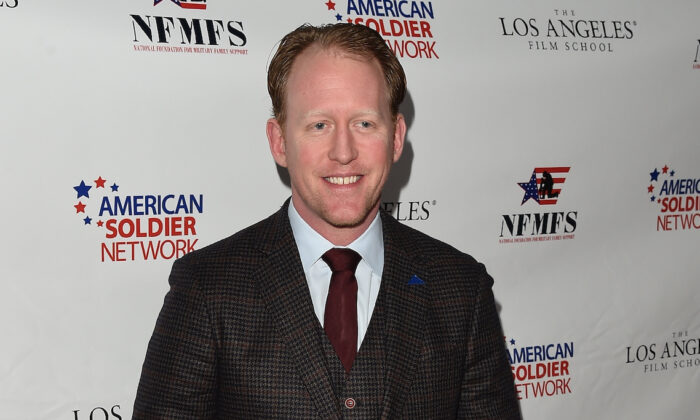 Former United States Navy SEAL Robert O'Neill at The Majestic Downtown in Los Angeles, California, on March 14, 2015. (Jason Merritt/Getty Images for NFMFS)
