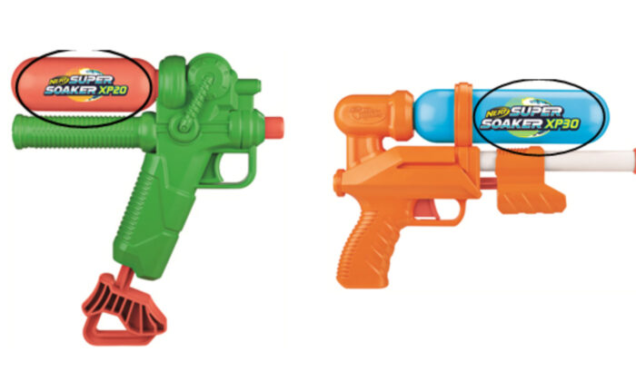 Water guns. (Courtesy of U.S. Consumer Product Safety Commission)