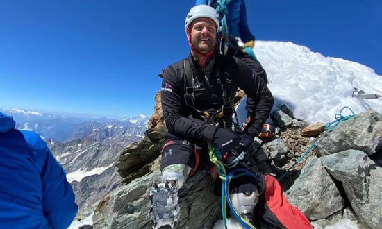 Veteran Becomes First Double Amputee to Summit the Matterhorn After Losing Legs in Iraq
