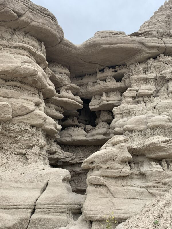 Rock formations at Toadstool Geologic Park