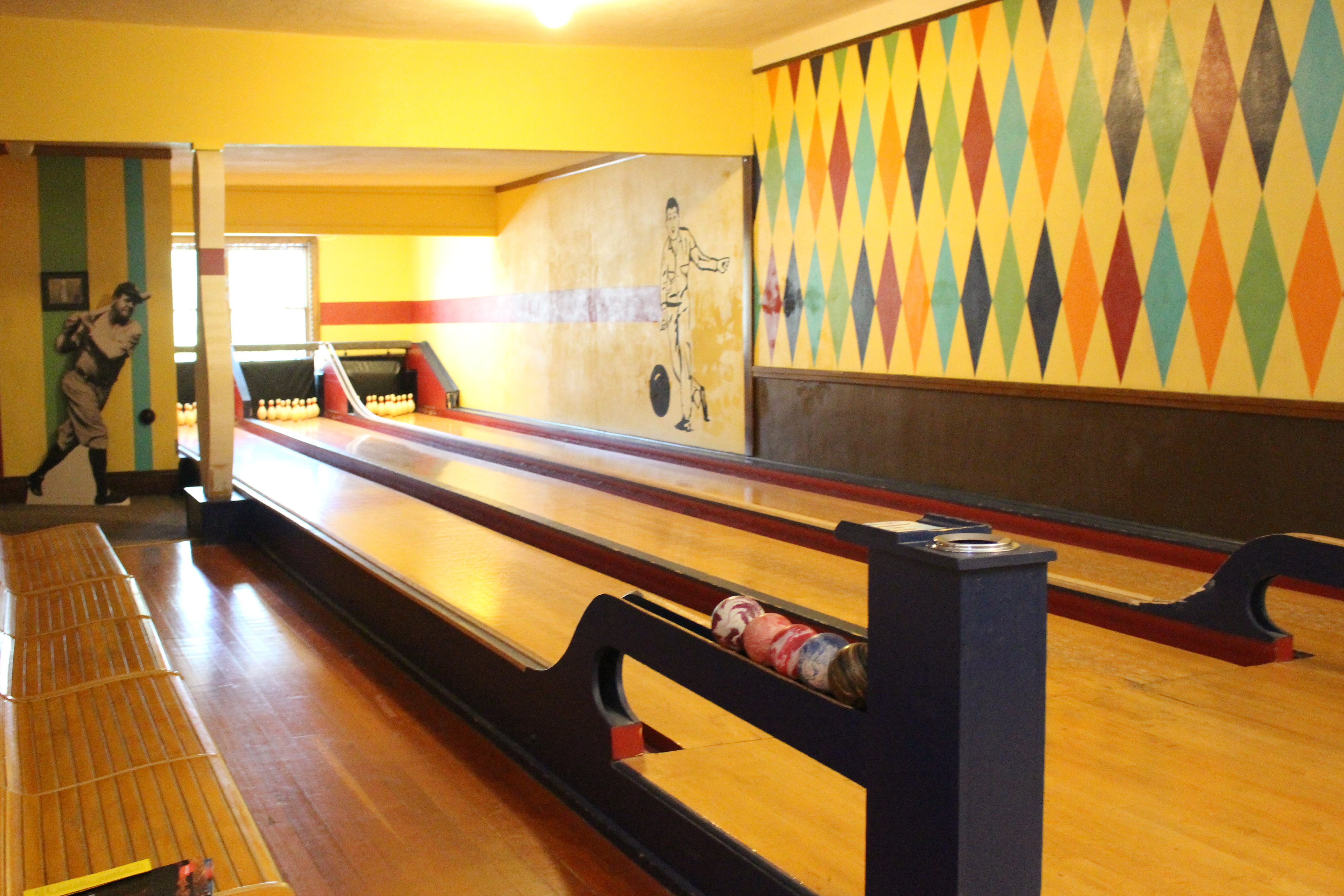 Potter Duckpin Bowling Alley