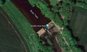 Heroic Teen Jumps Into River Tees Near Weir, Saves Brother, Tragically Loses His Own Life