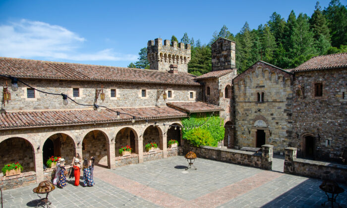 Castello di Amorosa in Napa Valley, Calistoga, Calif., is styled after a 13th-century Tuscan castle. (Shutterstock)