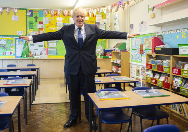 Boris Johnson schools