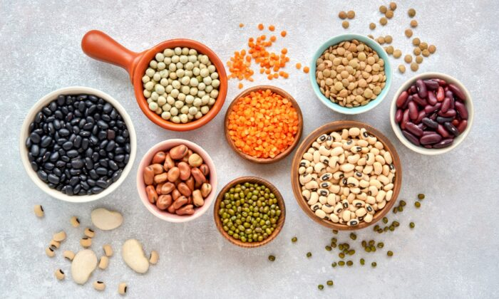 Cheap and convenient, beans are naturally high-protein, high-fiber, gluten-free, and vegan—a nutritional bargain. (Veliavik/Shutterstock)