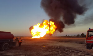 Syria Says Pipeline Blast Was Terrorist Attack, US Suspects ISIS