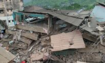 At Least 90 Feared Trapped in Building Collapse South of Mumbai