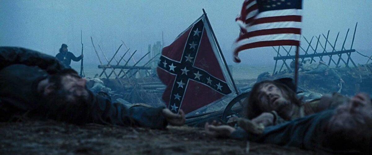 "dead soldiers on battlefield in ""Lincoln"""