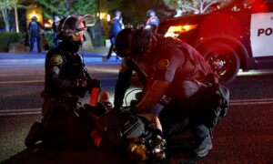 23 Arrested During Riot Outside Portland Police Precinct