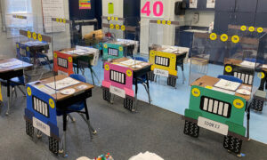 Creative Teachers Transform Kids' Desks Into Little Jeeps to Make Social Distancing Less Scary