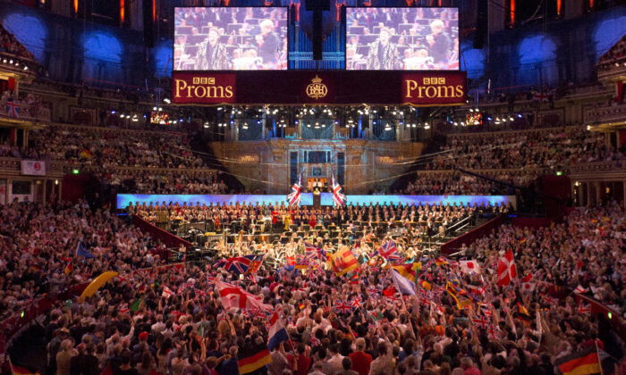 In this file photo, the BBC Symphony Orchestra performs at the last night of the BBC Proms festival of classical music at the Royal Albert Hall in London on Sept. 12, 2015. (Reuters/Neil Hall/File Photo)