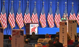 Republican National Convention Kicks Off