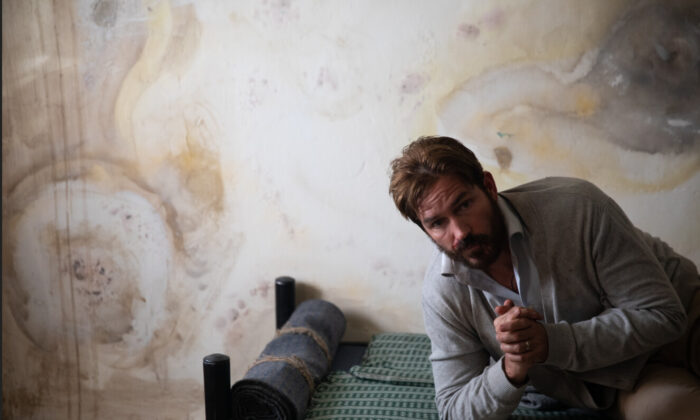 """Jim Caviezel stars as a kidnapped American journalist in """"Infidel."""" (The Refinery LLC)"""