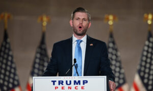 Tiffany and Eric Trump Deliver Speeches to Support Their Father at RNC