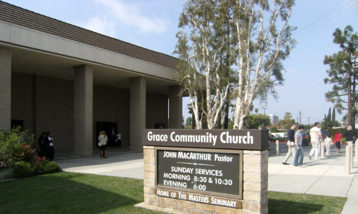 Grace Community Church in Los Angeles, March, 2008.  (Pigby at Wikipedia Commons/Public Domain)