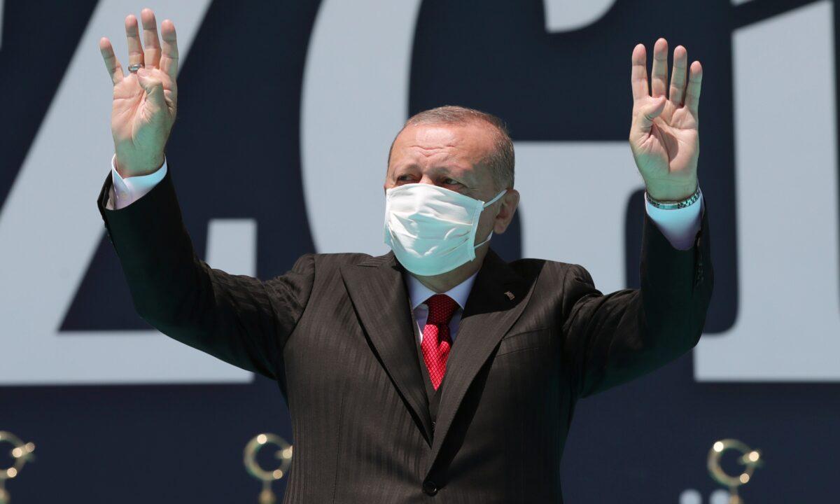 Turkey's President Recep Erdogan