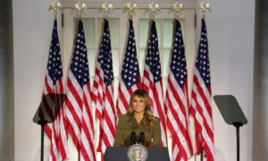 Melania Trump Highlights Nation's Opioid, Mental Health Crisis in Impassioned Speech at RNC