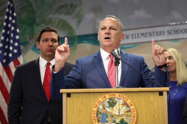Florida Education Commissioner Richard Corcoran