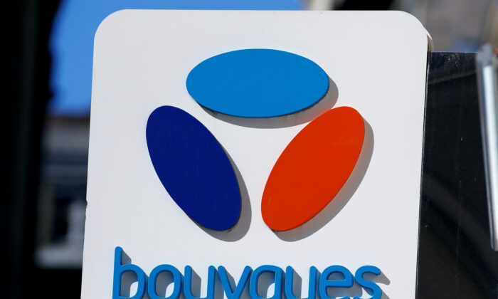 The Bouygues Telecom company logo is seen at a shop in Bordeaux, France, on March 22, 2019. (Regis Duvignau/Reuters)