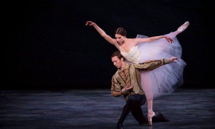 "Raffaella Stroik dancing to ""Griselle."" (Courtesy of Duncan Stroik)"