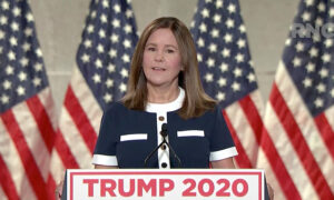 Second Lady's RNC Speech Salutes US Military Personnel and Their Spouses