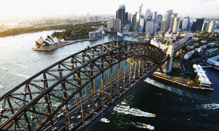 The Sydney Harbour Bridge in Sydney, Australia, is seen Feb. 20, 2007. (Ian Waldie/Getty Images)