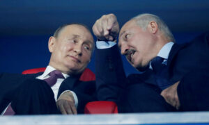 Putin Says Russia Has Set up 'Reserve Police Force' to Help Belarus Leader If Needed