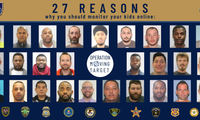Twenty-seven online offenders in mugshots. (Office of Cuyahoga County Prosecutor)