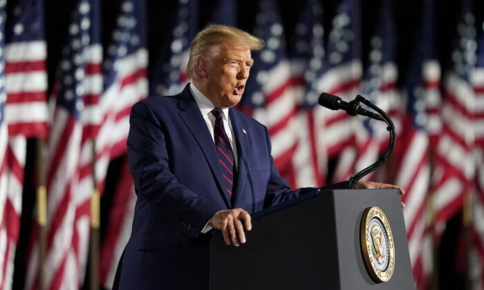 Trump Touts Achievements of Presidency, Lays out Ambitious Vision for Future
