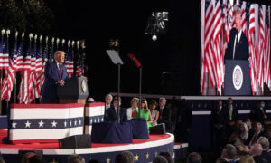 Watching Trump's Acceptance Speech, Nashville Style