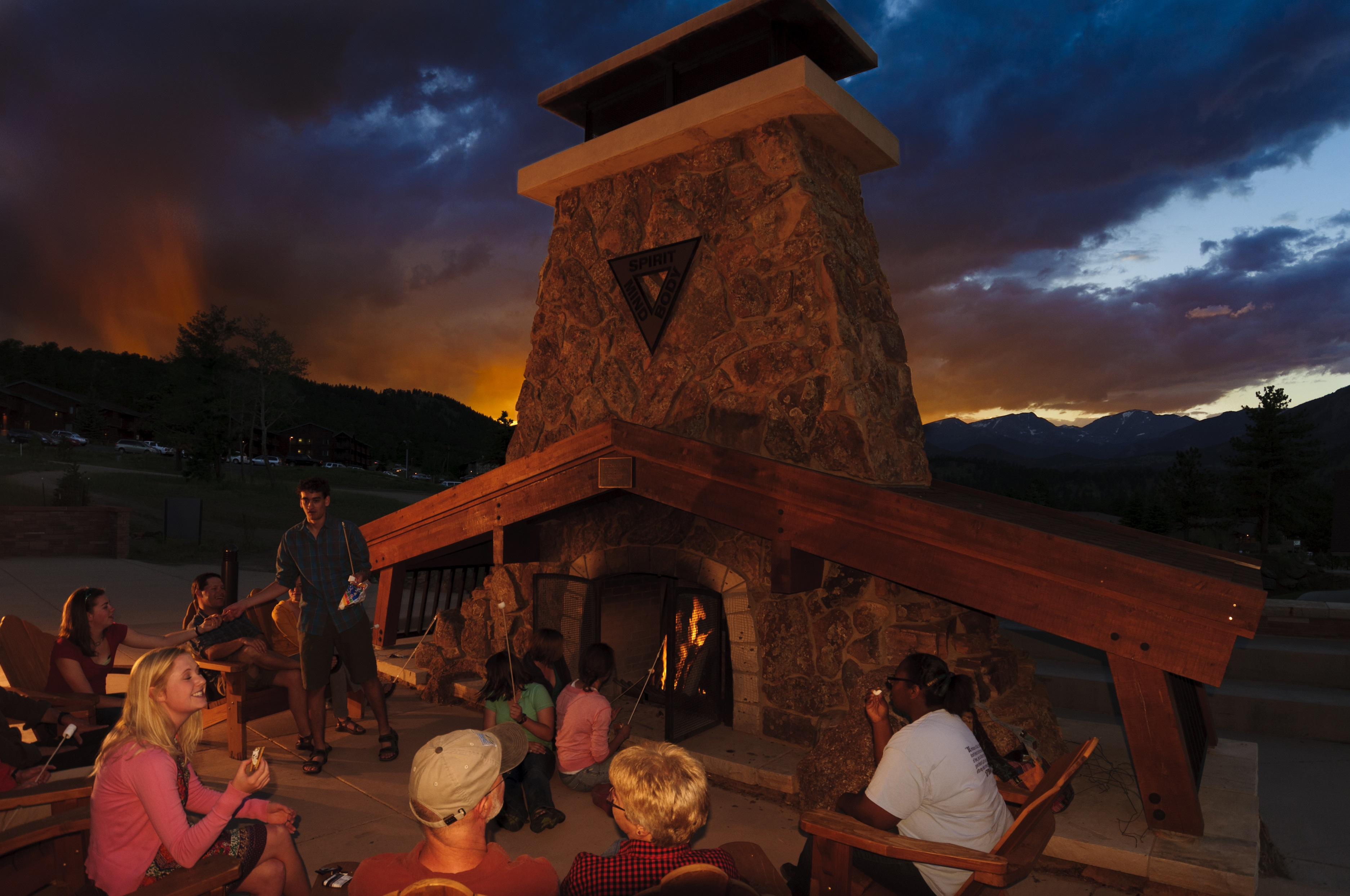 YMCA of the Rockies Campfire