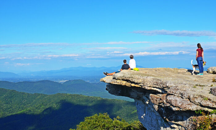 McAfee Knob, in southern Virginia, is one of the most spectacular and photographed spots along the Appalachian Trail. (Rui Serra Maia/Shutterstock)