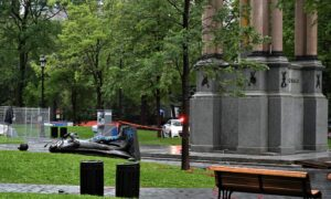 Tearing-Down of John A. Macdonald Statue Condemned by Politicians