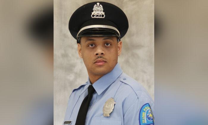 Officer Tamarris L. Bohannon, 29, in a file photo. (St. Louis Metropolitan Police Department)