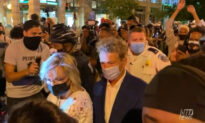 Protestors Harass Attendees Leaving RNC
