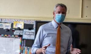 NYC's De Blasio Calls for Lockdown in 9 CCP Virus Hot Spots