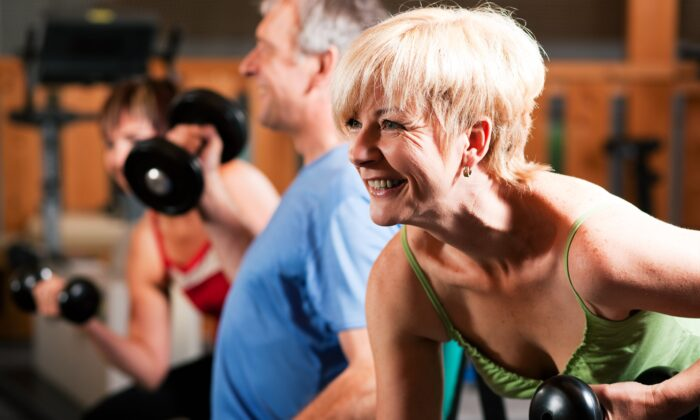 Resistance training can give older men and women similar muscle and strength gains. (Kzenon/Shutterstock)