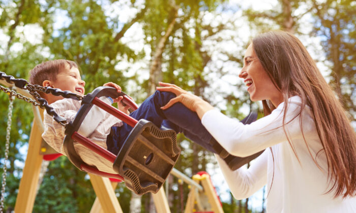 For those who find themselves unexpectedly homeschooling this year, Bortins recommends reconnecting as a family and identifying opportunities. For example, perhaps young children would benefit from more playtime. (ArtFamily/Shutterstock)