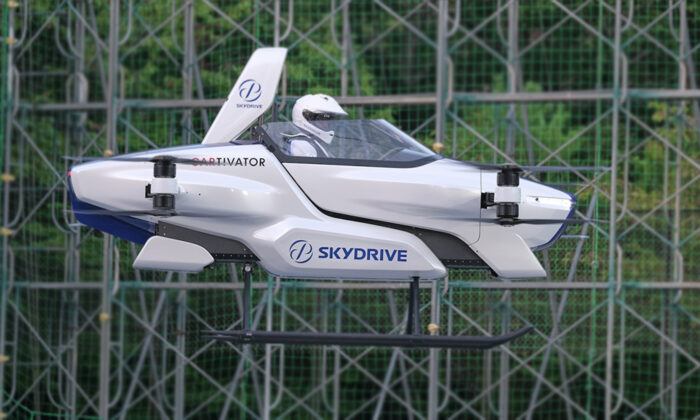 Successfully Tests Manned Flying Car for the First Time,