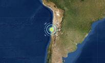Magnitude 6.8 Earthquake Strikes Near Coast of Northern Chile