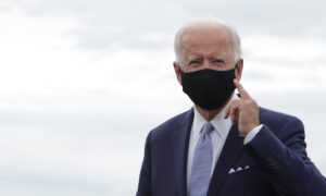 Biden Says He Would Enforce Nationwide Mask-Wearing on Federal Property