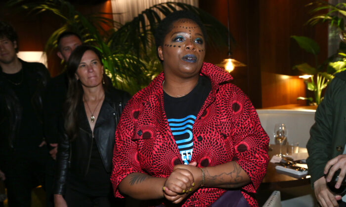 Patrisse Cullors attends an event in West Hollywood, Calif., on Feb. 13, 2020. (Tommaso Boddi/Getty Images for The West Hollywood Edition)