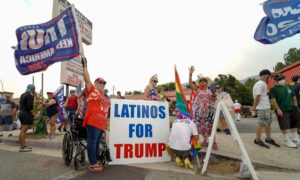 Diverse Trump Supporters Turn Out in California
