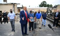 Trump Tours Damage From Riots in Kenosha, Promises to Help Businesses Rebuild