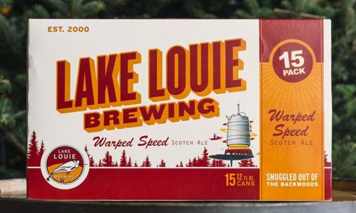 Lake Louie Brewing's Warped Speed Scotch Ale. (Courtesy of Lake Louie Brewing)
