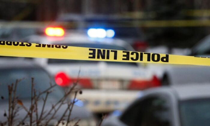 Six people were injured in a drive-by shooting at a Toronto bakery in the early morning of Sept. 2. (Jeff McIntosh/The Canadian Press)