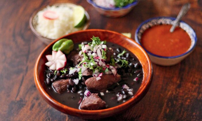 This simple stew is from the state of Yucatán, but it is also loved in nearby states such as Campeche, Quintana Roo, and Tabasco. (Courtesy of Mely Martinez)