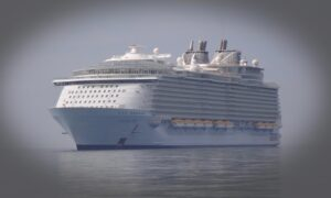 Huge 'Ghost' Cruise Ship Tours Lure Sightseers as Cruise Liners Remain Moored Due to COVID