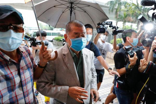 Media mogul Jimmy Lai Chee-ying